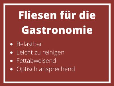 Fliesen für die Gastronomie