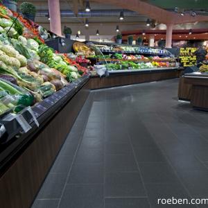 Fliesen für Supermärkte